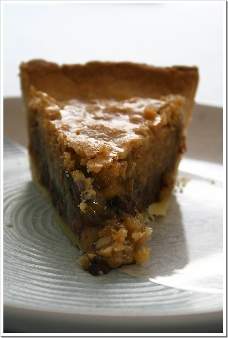 "Kentucky ""Dirty"" Bourbon Pie 