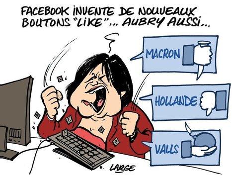 "Dessin de presse: nouveaux boutons ""Like"" de Facebook | Intelligence Web | Scoop.it"