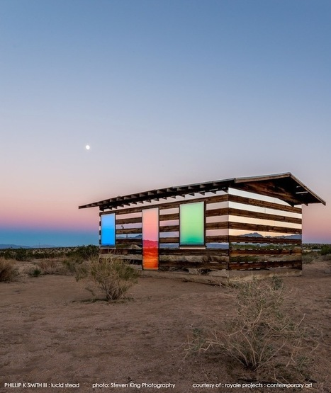 Joshua Tree's Hypnotically Reflective Desert Shack | Cultura de massa no Século XXI (Mass Culture in the XXI Century) | Scoop.it