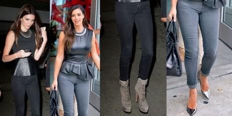 Kim Kardashian vs. Kendall Jenner pazze per il 'peplum top' - Sfilate | fashion and runway - sfilate e moda | Scoop.it