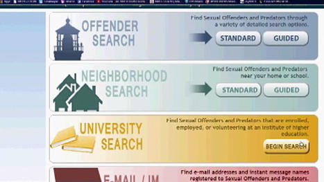 New Database Shows Sex Offenders on Florida Campuses | Background Checks | Scoop.it
