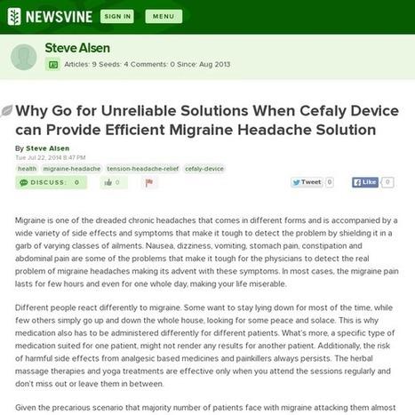 Sinus headache | Migraine Headache Relief | Scoop.it
