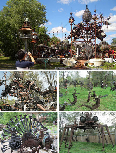 Dirty Art: 7 Innovative #Artists Who Make #Artwork from #rubbish. #art #recycle #sculpture | Luby Art | Scoop.it