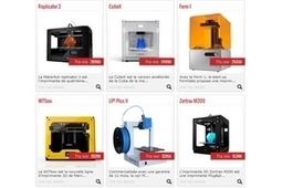 Lancement du premier comparateur d'imprimantes 3D - 01net | Imprimante3D | Scoop.it