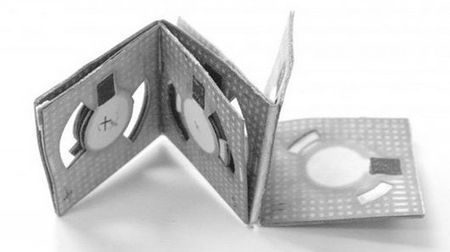 """Origami battery"" made from paper and dirty water for just a few cents 