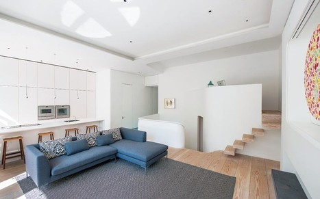 Interiors: an open-plan Kensington home - Telegraph.co.uk | Antique Brass Lights for Picture Frames | Scoop.it