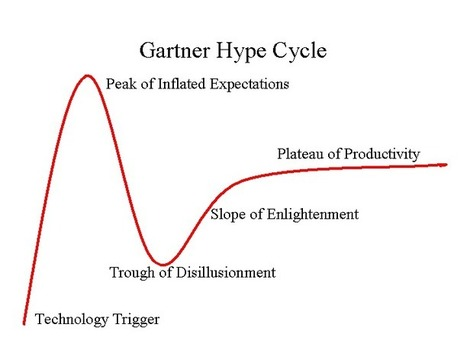 Gartner's Hype Cycle as Springboard - MOOC and Public Policy | The Future of Distance Education | Scoop.it
