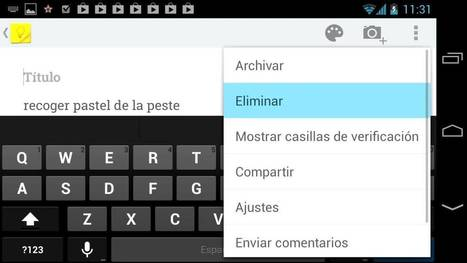 Así funciona Google Keep en español, para Android y iPhone - YouTube | FORMACION | Scoop.it