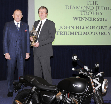 'Iconic' Triumph wins the RAC's Diamond Jubilee Trophy | Motorcycle Industry News | Scoop.it