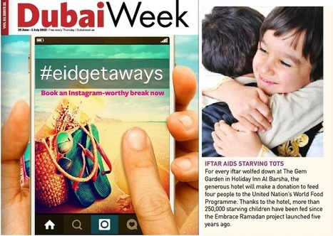 Iftar Aids Starving Tots | Holiday Inn Dubai Al Barsha | Scoop.it