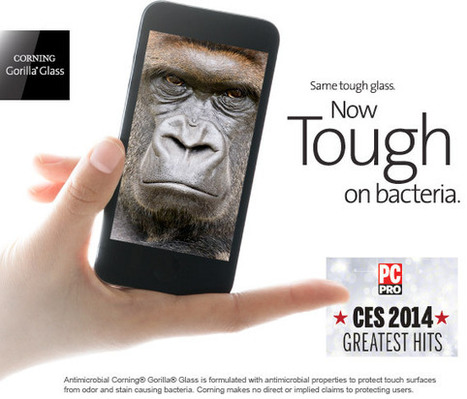 CORNING® GORILLA® GLASS | Antimicrobial | Techie News From Around The World | Scoop.it
