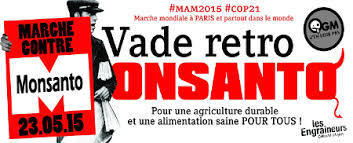 Voici la LISTE des MARCHES REGIONALES pour la ‪#‎MaM2015‬ CONTRE MONSANTO | Think outside the Box | Scoop.it