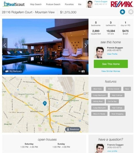 RealScout aims to fire up agents' role in online search - Inman.com | Commercial Real Estate | Scoop.it