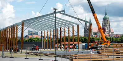 First tents go up for Munich's Oktoberfest - The Local | Oktoberfest! | Scoop.it