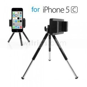 Universal Mobile Tripod Holder for Apple iPhone 5C Black - Witrigs.com   Gadgets & Professional Repair Tools for smartphones   Scoop.it