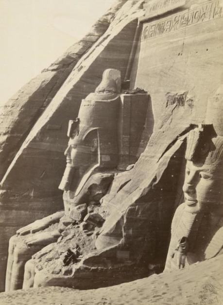 Abu Simbel in Nubia, southern Egypt, 1860s | Nubia; daily life and cultural heritage | Scoop.it