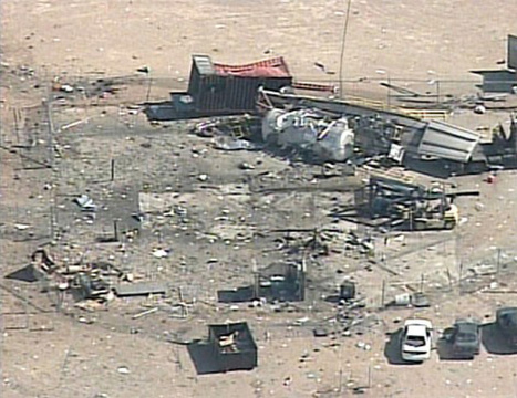 Scaled Composites accident - Mojave Desert, California | Knights Arrow | Occupational health and safety. | Scoop.it