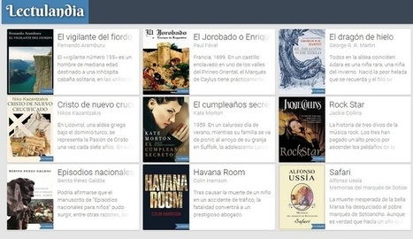 Lectulandia, un sitio donde descargar cientos de libros digitales gratis - Nerdilandia | Searching & sharing | Scoop.it