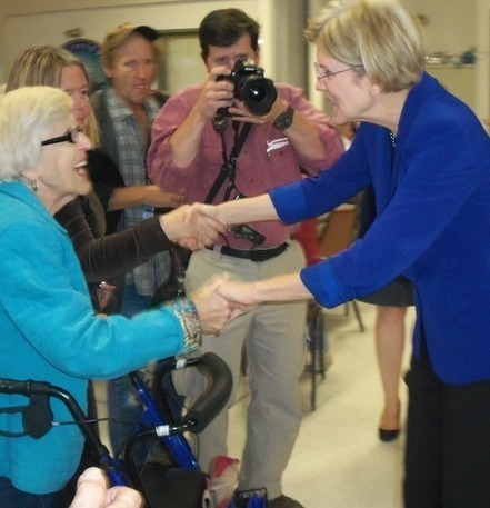 Elizabeth Warren talks Medicare with Medford seniors | Boston .Com | Massachusetts Senate Race 2012 | Scoop.it