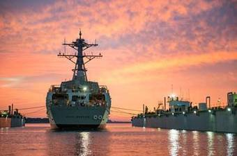 Arleigh Burke-Class Destroyer Paul Ignatius Launched   Marine Innovation   Scoop.it