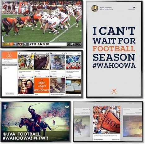 Postano Lets Universities Live-Screen Social Media Engagement At Sporting Events | Event Operations | Scoop.it