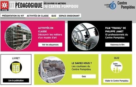 Un kit pédagogique pour découvrir 10 métiers du musée – Les Outils Tice | Les outils du Web 2.0 | Scoop.it