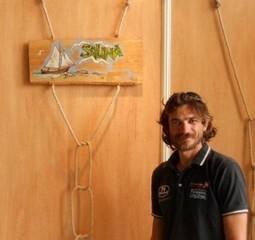 Da Taranto a Brest in barca a vela. Alessandro Maruccia in videochat su Ottante.it | Il blog del mare | VELA e MARE | Scoop.it