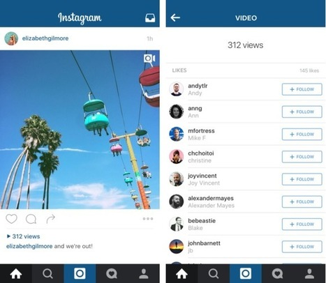 Instagram Reveals Video View Counts To Score Creators And Ad Dollars | Studium Media - Musings | Scoop.it