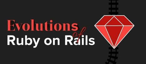 Evolution of Ruby on Rails (Info-graphic)   valuecoders   Scoop.it