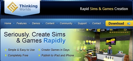 Thinking Worlds | Rapid Sims & Games Creation | Into the Driver's Seat | Scoop.it