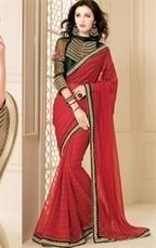 Premium Collection of Designer Contemporary Sarees | Indian Wardrobe | Scoop.it