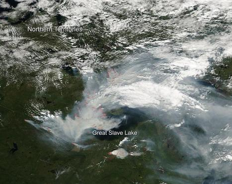 Image: Fires not slowing around Yellowknife | Sustain Our Earth | Scoop.it