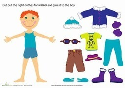 Winter Paper Doll Boy   Chinese Class   Scoop.it