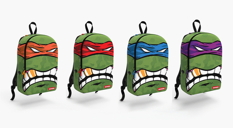 SPRAYGROUND x Teenage Mutant Ninja Turtles Collection • EQUNIU   Street Fashion   Scoop.it