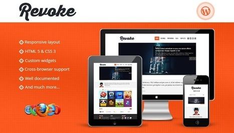 Revoke - Responsive WordPress Theme | TeslaThemes | Clean WordPress Themes | Scoop.it