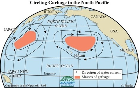Geography in the News: Swirling Ocean Garbage Dumps | Geography in the News | Scoop.it