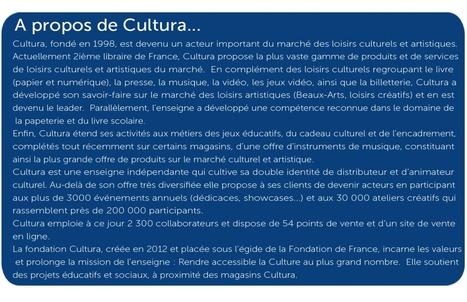 l'Espace Datapresse - LA FONDATION CULTURA ET SES COLLABORATEURS S'ENGAGENT AVEC A.N.D.E.S | Fondation Cultura | Scoop.it