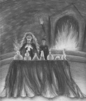 Pottermore Insider: Pottermore art: Through the Trapdoor   Pottermore   Scoop.it