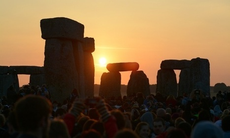 Summer solstice at Stonehenge  in pictures   Mégalithismes   Scoop.it