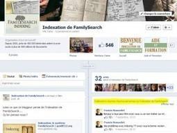 L'indexation de FamilySearch découvre Facebook | Histoire Familiale | Scoop.it