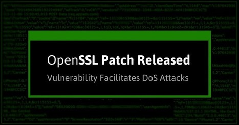 "OpenSSL Releases Patch For ""High"" Severity Vulnerability 