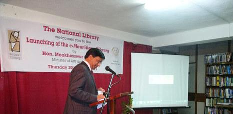 Librairie Nationale : L'e-Mauritiana Library enfin une réalité | BiblioLivre | Scoop.it