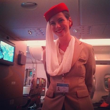 she took care of me - #my #long #haul #flight... | The future flight attendant :-) | Scoop.it