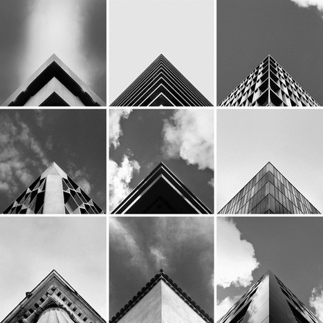 'Geometry Club', An Instagram Filled With Precisely Aligned Architectural Photos - DesignTAXI.com | Geometry Math | Scoop.it