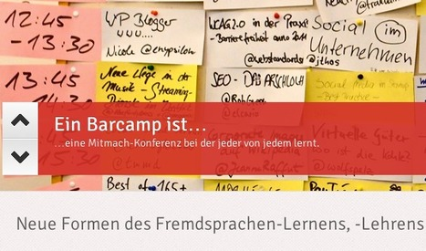 DE: LinguaCamp | Neue Formen des Fremdsprachen-Lernens, -Lehrens & Trainings | LinguaCamp | Scoop.it
