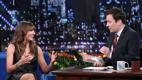Rashida Jones talks Belize on Jimmy Fallon | Belize in Social Media | Scoop.it