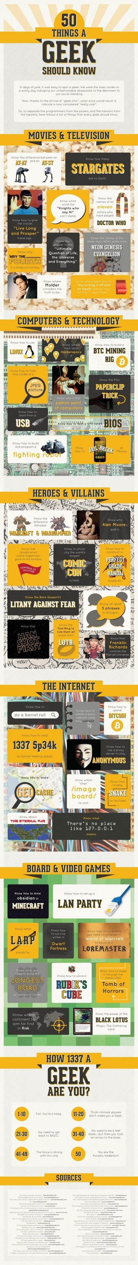 50 rasgos de un verdadero geek   TICbeat   Dani Reyes   Scoop.it