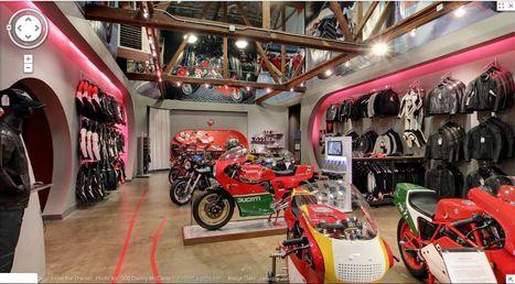 "Google Maps Street View of MotoCorsa Vintage Ducati Display ""Museo Ducati"" | Ductalk Ducati News | Scoop.it"