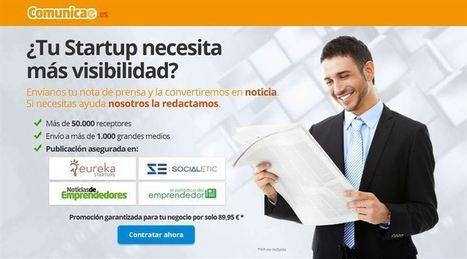 COMUNICADO: Comunicae lanza un nuevo servicio para emprendedores - Europa Press (Comunicado de prensa) | Motiva Tu Negocio Online | Scoop.it