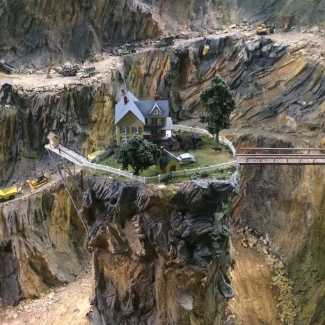 Take a Ride on 9 of the Most Incredible Model Trains in the World | Outbreaks of Futurity | Scoop.it